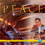 Peace: The Euphonium Music of John Golland CD - David Childs